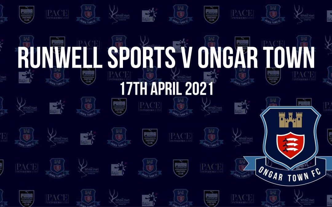 EOFL Division 1: Runwell Sports FC 0 V Ongar Town Fc 3
