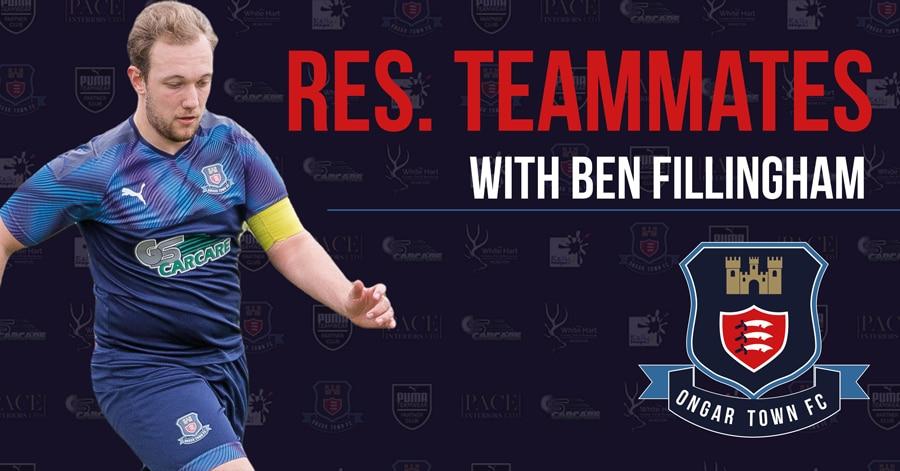 Ben Fillingham – Reserves Team Mates