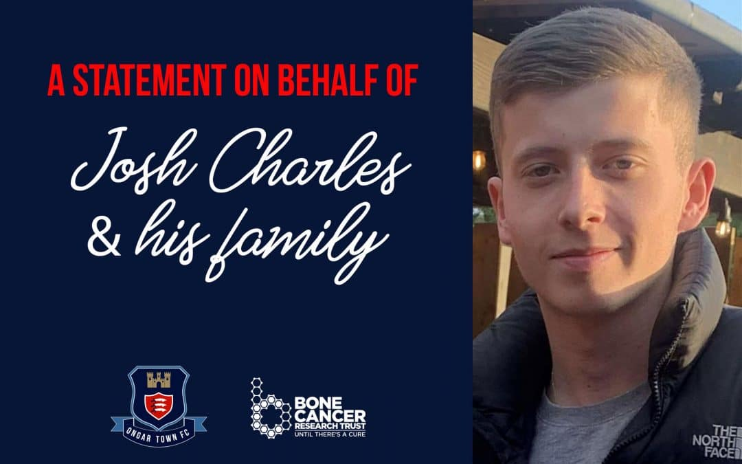 A Statement form Josh Charles & Family